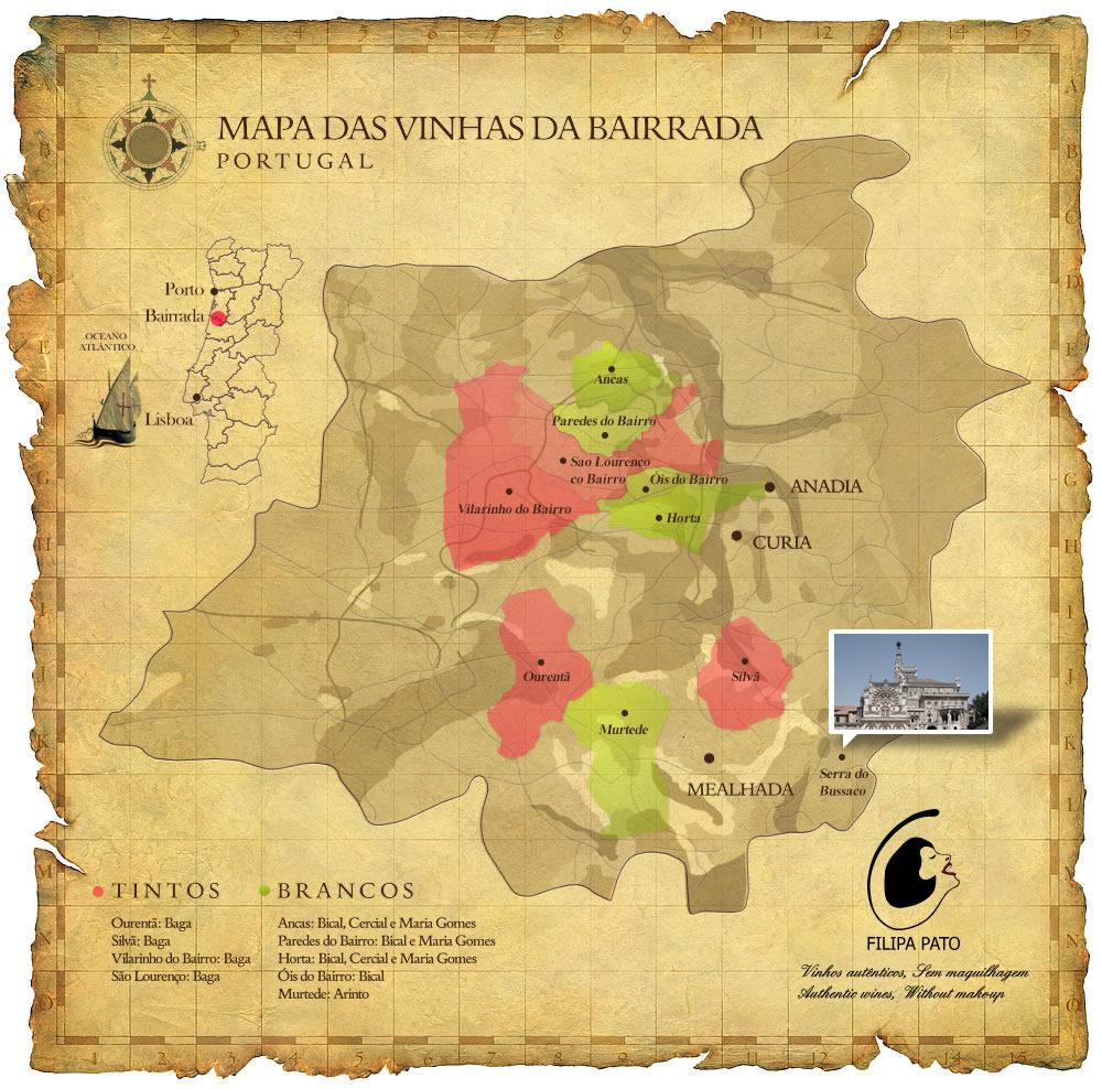mapa da bairrada Bairrada Mapa | thujamassages mapa da bairrada
